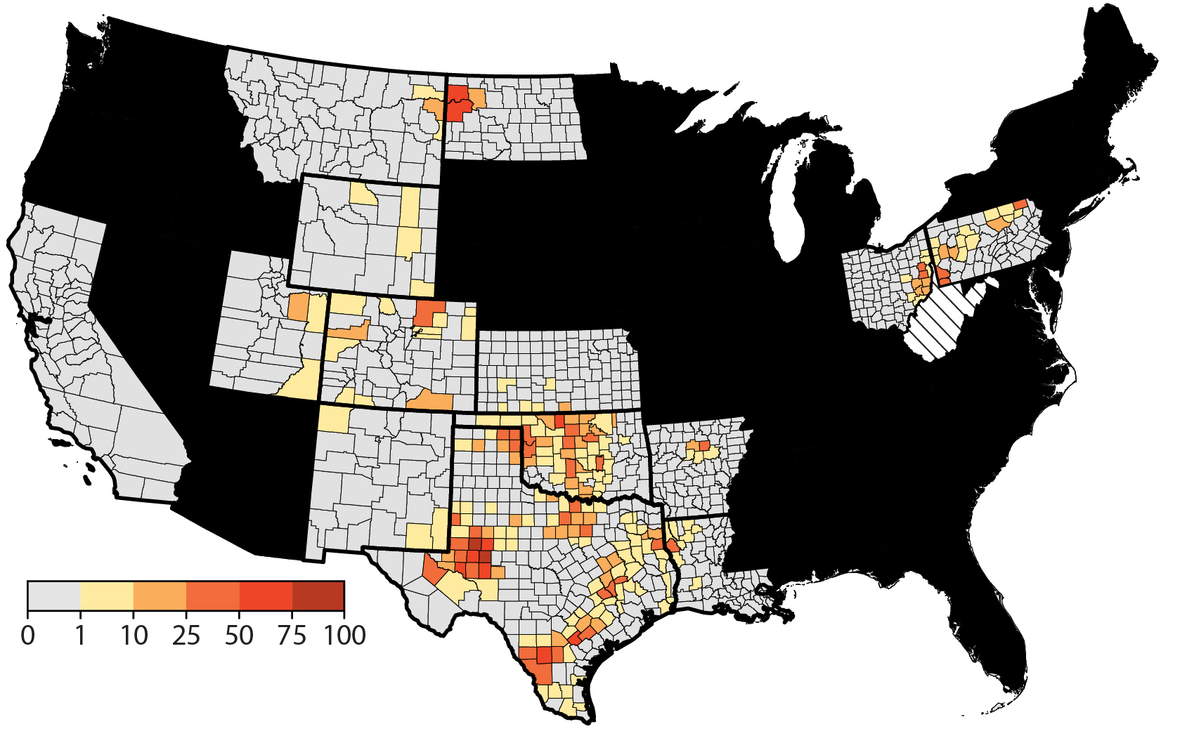 How Close is Too Close for Hydraulic Fracturing? | Water in the West